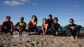 Eleonora,Matis,Leandro,Santiago,Agustina,Valentin,Adrian,Faustina #MyOceanPledge Peninsula Valdes