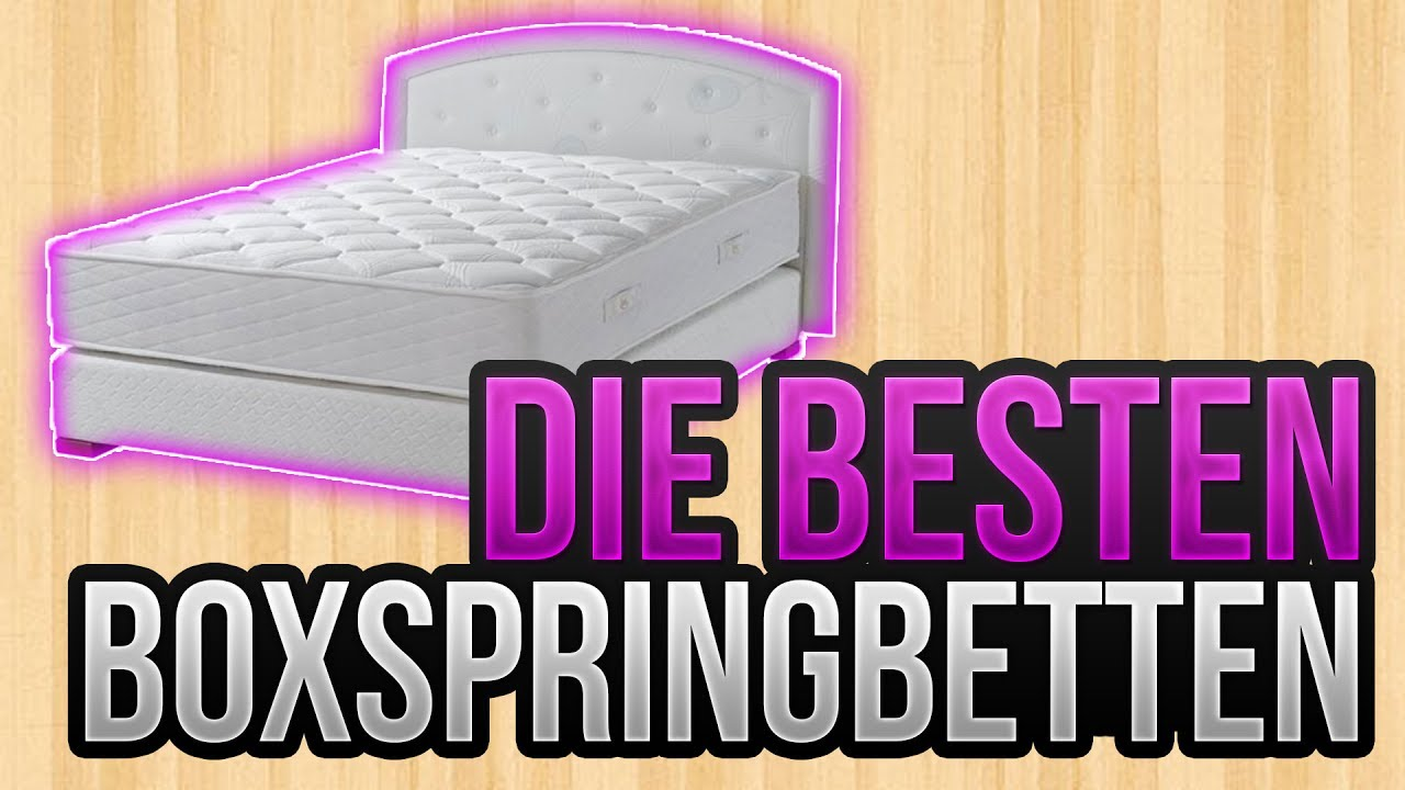 die besten boxspringbett 2017 top 5 vergleich. Black Bedroom Furniture Sets. Home Design Ideas