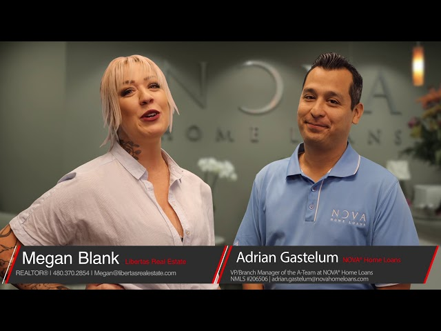 Adrian and Megan talk down payment