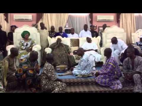 Ooni Of Ife Supports Aregbesola 2nd Term Bid