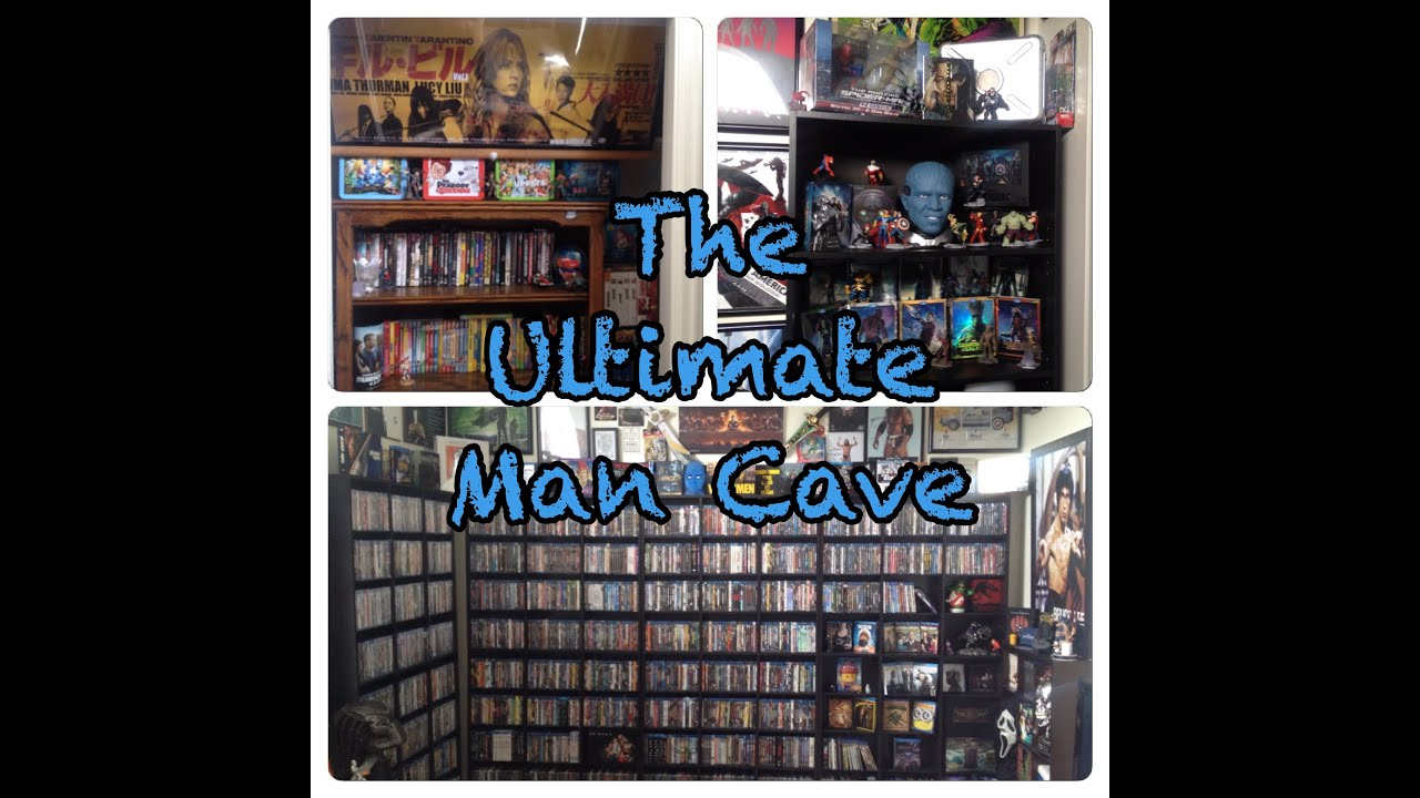 How To Create The Ultimate Man Cave: The Ultimate Man Cave Home Theater Room