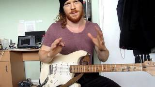 How to Add Vibrato to String Bends on Guitar