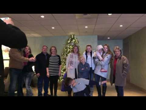 The Coeur d'Alene Resort Holiday Mannequin Challenge