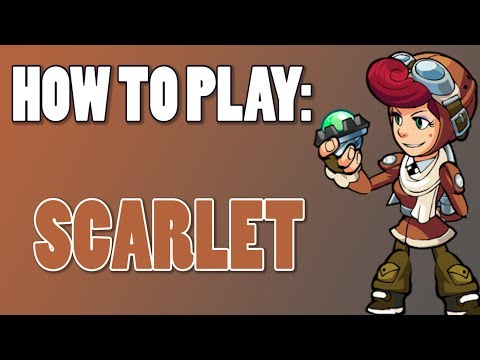 How To Play: SCARLET (Brawlhalla)
