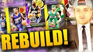 SMALLEST PLAYERS ONLY REBUILD! #2 - NBA 2K16 DRAFT vs. MyLEAGUE REBUILD CHALLENGE!