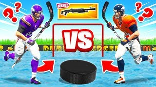 PLAYOFF AIR HOCKEY Loot BATTLE *NEW* Game Mode in Fortnite Battle Royale