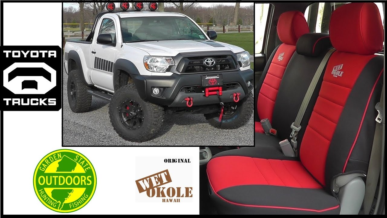 Toyota Tacoma Seat Covers By Wet Okole