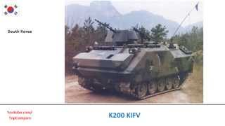 K200 KIFV compared with FV432, Armoured personnel carrier specifications