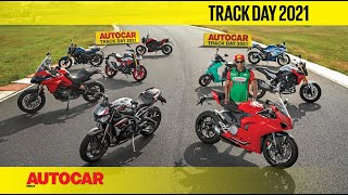 Most fun bikes on track with Rajini Krishnan | Track Day 2021 | Autocar India