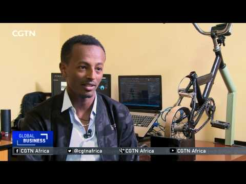 Engineer incorporates bikes into video gaming in Ethiopia
