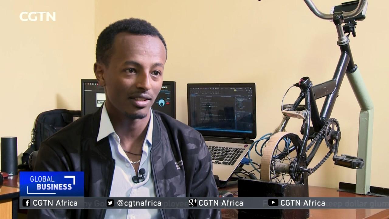 Engineer incorporates bikes into video gaming in Ethiopia