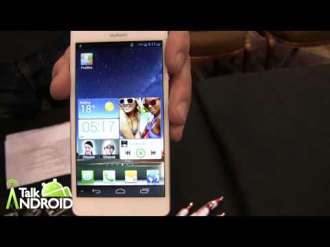 Hands on with the Huawei Ascend D2