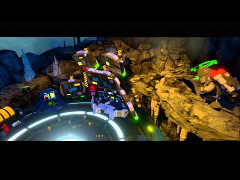 Lego Batman 3 Walkthrough PART 2 (The Batcave)