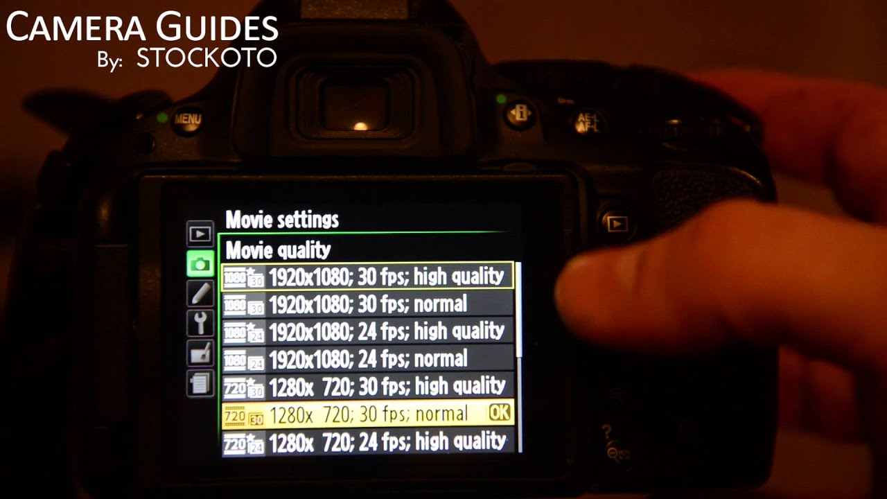 how to change exposure on nikon d5200