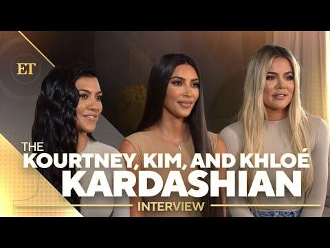 Kim, Kourtney And Khloe Kardashian Talk Future Of KUWTK (Full Interview)