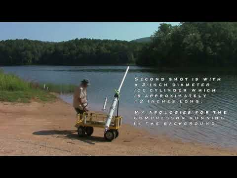 Bait Launcher Cannon   Three Tests Firings