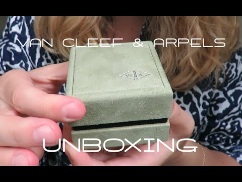 Van Cleef & Arpels UNBOXING | 25th Birthday Present!