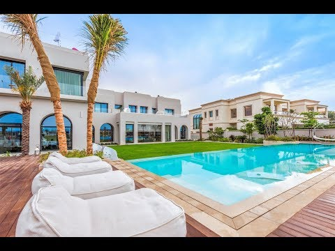 Expansive Villa with Golf Course Views in Emirates Hills, Dubai, United Arab Emirates