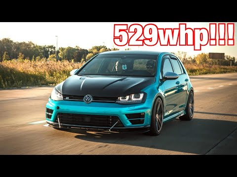 Download APR Stage 3+ Golf R LAUNCH CONTROL and REVIEW!!! 0-60mph in 3.07 seconds!