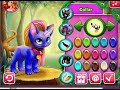 dolldivine.com Unicorn Fluffy Dream cat creator my little pony dress up games