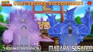 [CODE] The Madara Susanoo KG vs El Sasuke Susanoo Subjutsu! Roblox:NRPG Beyond Spain