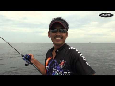 SENSES Ocean Luna Slow Jigging Rod In Action !