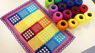 Cris Vasconcelos – Como Esticar e Engomar Toalhas em Crochê