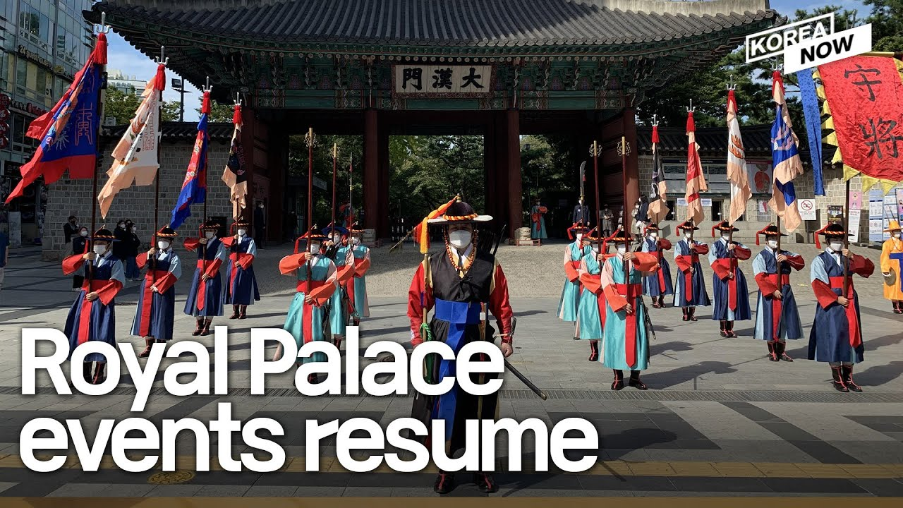 Royal Palace Guards finally hold their performance in 262 days