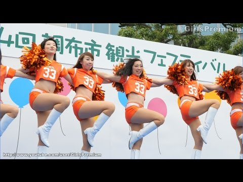 【4K】 LIXIL DEERS チアリーダー 2015 Cheerleading