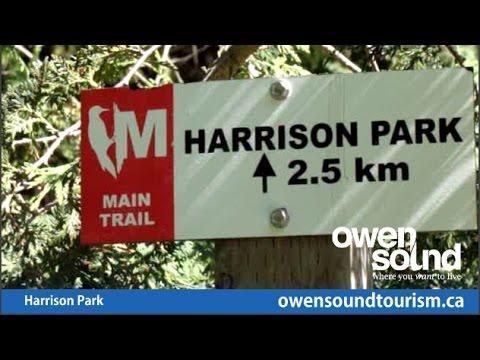 Harrison Park, Owen Sound, Ontario - A Park For All Seasons