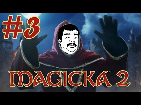 Let's Play Magicka 2 (Coop) - Episode 3 - Butthole beam Go!