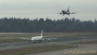 DC8-DC10 at SeaTac (1997)