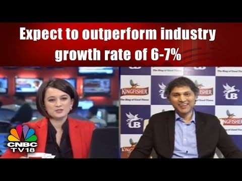 United Breweries: Expect to outperform industry growth rate of 6-7% | CNBC TV18