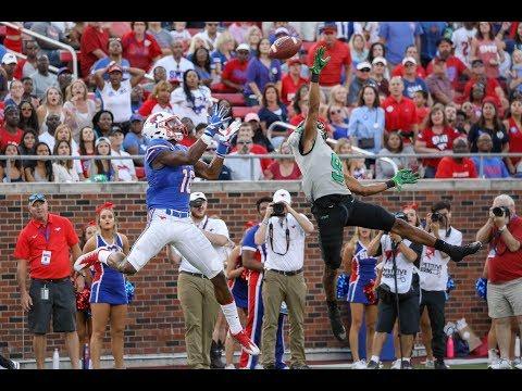Football Highlights - SMU 54, North Texas 32