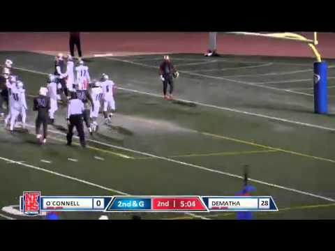 Dematha #5 Anthony McFarland 11 yard TD run