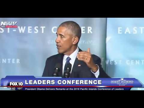 President Obama Speech 2016 Pacific Islands Conference of Leaders 9/1/16
