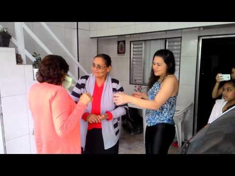 O reencontro das irmãs após 60 anos a Mãe Catarina e Tia Zefinha
