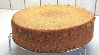 ????МЕДОВЫЙ ШИФОНОВЫЙ БИСКВИТ | Honey Chiffon Cake Recipe |КУЛИНАРИЯ С ЛЮБОВЬЮ
