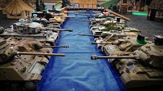 """Танковый Бой на Радиоуправлении """"Битва за Белгород"""""""