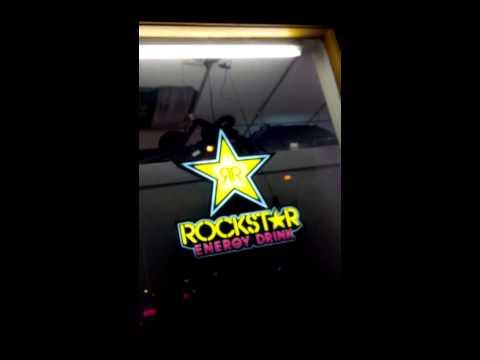 Rockstar energy sign