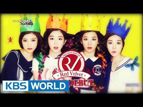 Red Velvet - Happiness | 레드 벨벳 - 행복  [Music Bank Debut / 2014.08.01]