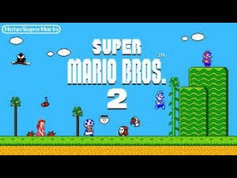 Second Verse, Not Quite The Same As The First (Let's Play Super Mario Bros. 2)