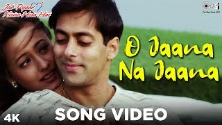 Enjoy the song video of 'o jaana na jaana' from movie 'jab pyaar kisise hota hai' starring salman khan. sung by kumar sanu. music composed jatin-lalit...