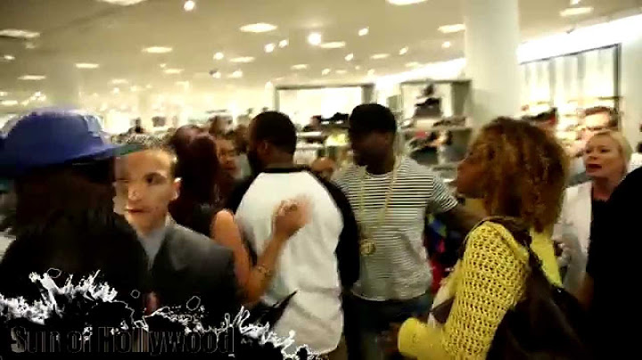 fight nearly breaks out at 50 cents sms audio signing at the grove fifty dont back down