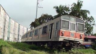 フィリピン国鉄(PNR)203系 第5編成 San Andres~Paco間走行