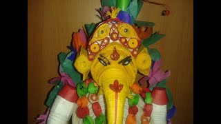 paper quilling ganesha