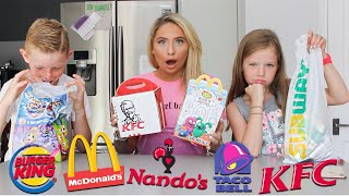 I rated British fast-food kids meals with KIDS!!
