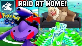Spoofing Niantic style coming soon to Pokemon GO | Raid at home | GO Fest at home