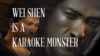 Wei Shen Is A Karaoke Monster- Sheep With Ties