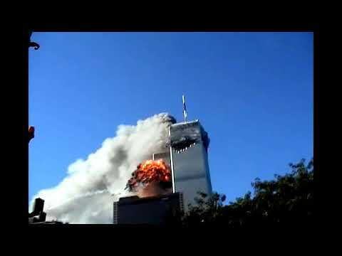 Close Angles of The South Tower Impact/Second plane hit 9 ...